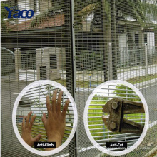 высокий уровень безопасности забор безопасности стали безопасности окно забор для тюрьмы