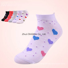 Factory Custom Men Women Colored Ankle Cotton Polyester Boat Socks