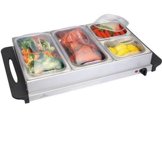 3 Pan Food Warmer