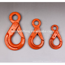 Heavy duty G100 Eye Self- Locking Lifting & Hoisting Hook