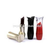 Labio lápiz labial de la marca tubos de lápiz labial elegante de barra de labios de las mujeres