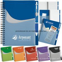 Werbe-Notebook-Sets mit individuellen Stiften