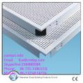 T Bar Suspended Drop Ceiling Acoustic Aluminum Tile