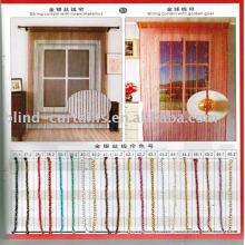 Farben Metallic String Vorhang