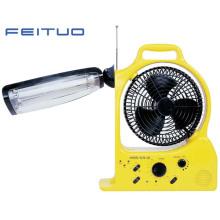 Ventilateur rechargeable, lampe de secours
