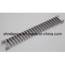 Perfiles de extrusión de aluminio / aluminio de disipador de calor para la industria