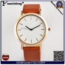 Yxl-315 elegancia promocional más caliente de caballos calificados relojes de pulsera de acero inoxidable reloj de negocios mens señora reloj