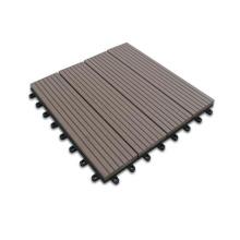 Plástico de madeira WPC Decking DIY