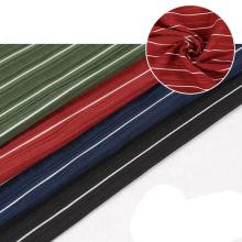 Colorful textiles stoff mini spandex luxury fukuro jacquard stripe fabric