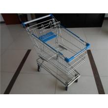 Азиатская Вагонетка Покупкы Супермаркета Типа
