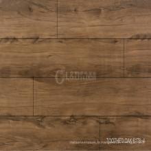 Meilleure vente facile clic plancher de planches de vinyle pur intérieur