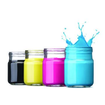 Pasta de pigmento de impressão ambiental para vários aspectos