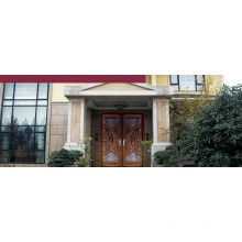 Italia puerta de acero blindada puerta dormitorio proveedor China (D4026)