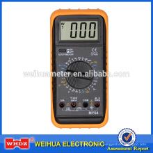 Multímetro digital de alta precisión MY64 con prueba de frecuencia de zumbador
