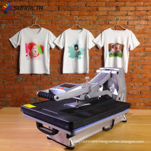 Sunmeta 2015 drawer type high quality digital t-shirt heat press automatic sublimation machine ST-4050