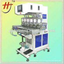Fournisseur de JSP de vente chaude d'imprimante à 6 tasses en toupie avec navette
