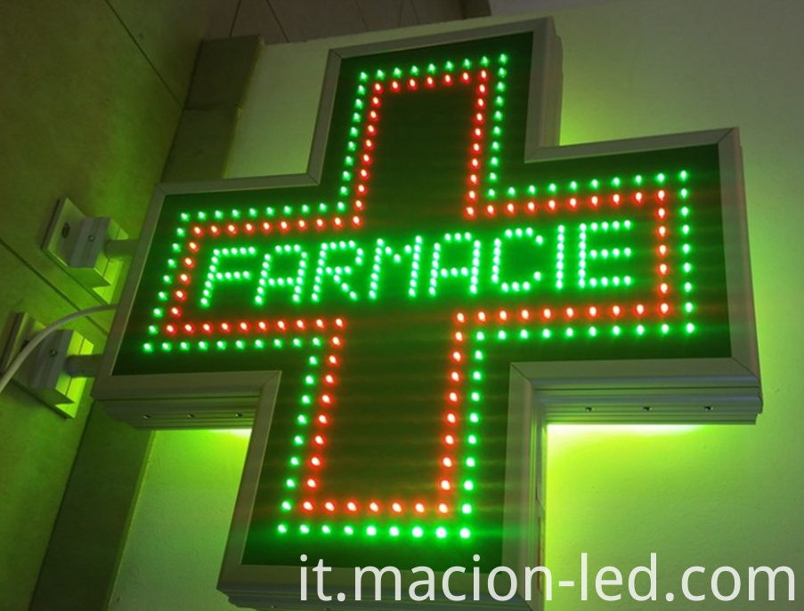 Cross LED Display