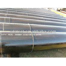 tubo de aço carbono de alta pressão api 5l x52 / x42 / gr.b
