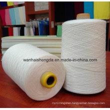 High Tenacity Polyester Cotton Yarn, Ne20/2 Cotton Polyester Twist Yarn for Weaving