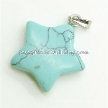 Star Shape Turquoise Pendant