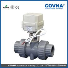 1 pulgada 2 pulgadas 3 pulgadas PVC válvula de bola eléctrica price / Motorize la válvula de bola dn15 dn20 dn25