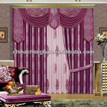 Tela diferente del estilo único de las cortinas orientales para la venta