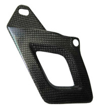 Carbon fiber chain guard part