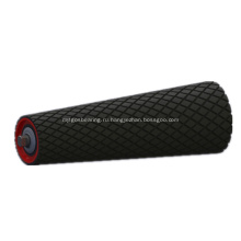Конусный ролик с резиновым покрытием