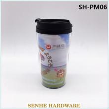 Werbeartikel Kunststoff Einzelwand PP Kaffeetasse BPA frei