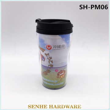 Promotional Plastic Single Wall PP Coffee Cup BPA Free