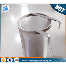Customized stainless steel 300 micron hop filter screen homebrew hop filter wire mesh