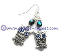 evil-eye-owl-dangle-earrings-antique-silver-blue-earrings