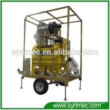 Usine de traitement de grain de graine de type mobile de haute qualité