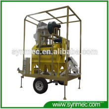 Mobile Type Seed Grain Cleaning Plant