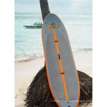 Противоскользящая надувная доска для серфинга с веслом