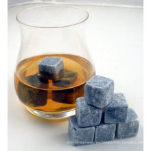 1-9 pc Grey Whiskey Stones Chilling Cooling Cold Cool Wine
