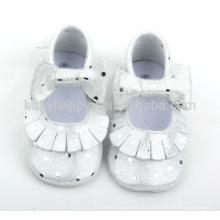 Горячие продажи младенческой мягкой подошвы кожаные ботинки красивые девушки