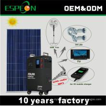 2017 neue Produkte mit Radio-off-Grid-portable Solaranlage