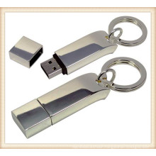 New Metal Keychain Stick Shaped 4GB USB Flash Drive (ED033)
