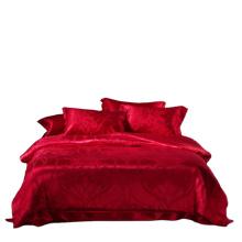 NOVA roupa de cama de luxo em seda pura para casamento
