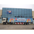 Two Axle Box / Curtain Side نصف مقطورة