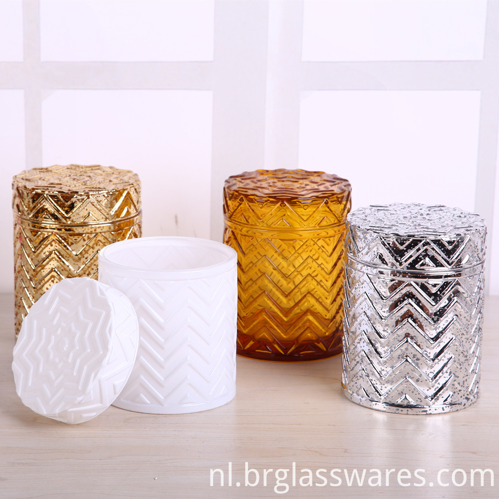 glass candle jar 1
