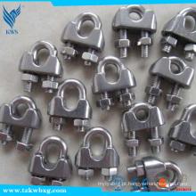 AISI M1 8202 braçadeiras de aço inoxidável de amostra livre usadas na máquina