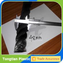corde de bataille matérielle de polyester de la couleur 48mm noire à vendre