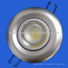 Новый дизайн! 10w COB регулируемый светодиодный светильник