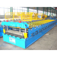 Uncoiler And Recoiler Corrugated Roll Forming Machine With Galvanized Board For Furniture