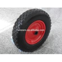 Rueda de la espuma de 16x4.80 / 4.00-8 PU para la carretilla de rueda