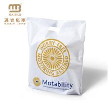 sacs de transport en plastique blanc figure punch
