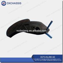 Véritable plaque de guide de chaîne de tension de filtre à huile de transit V348 3S7Q 6L266 AE