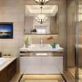 Floating Bathroom Vanities with Mirror Lights